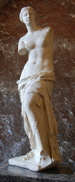 Third big attraction: The Venus de Milo.