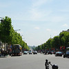 The Champs Elysees.