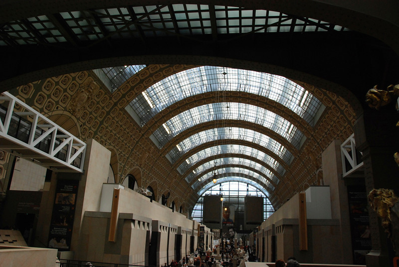 Saturday, May 17: Musee de Orsay. This used to be a train station.