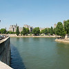 A beautiful day on the Seine.