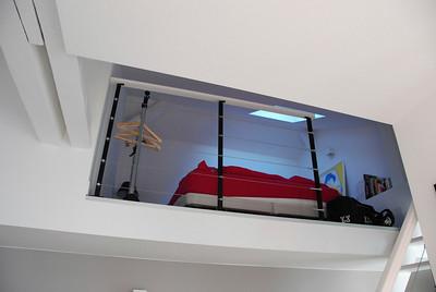 Loft where Jeremy slept.