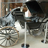Carriage in the visitors center.