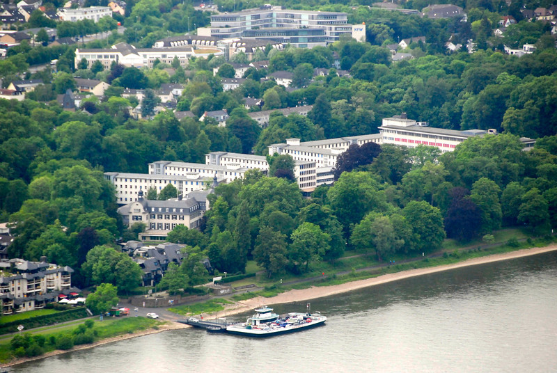 This used to be the U.S. Embassy complex when the German government was in Bonn. It has moved to Berlin.