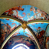 Ceiling in hall
