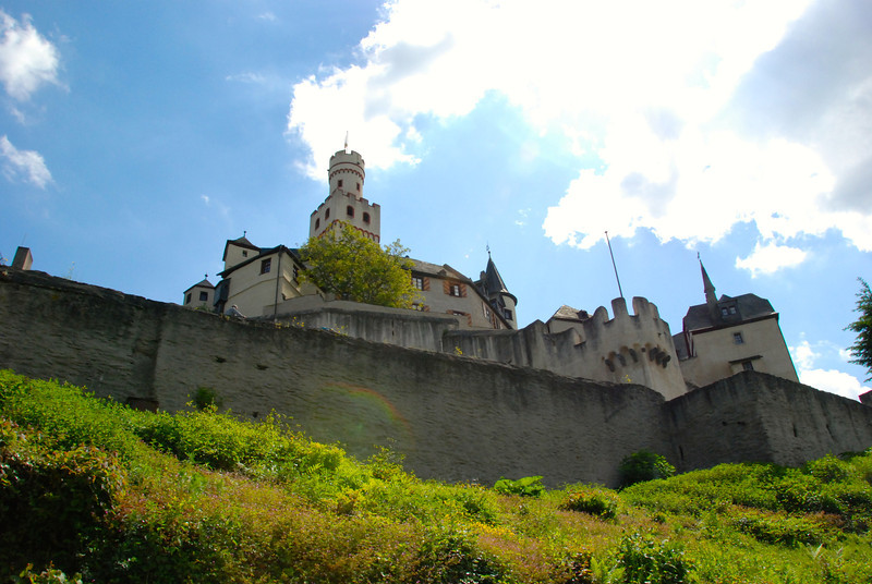 Wednesday, May 14: The castle in Marksburg. This is the only castle in Europe that has not been destroyed by natural disaster or war and rebuilt. It's the original building.