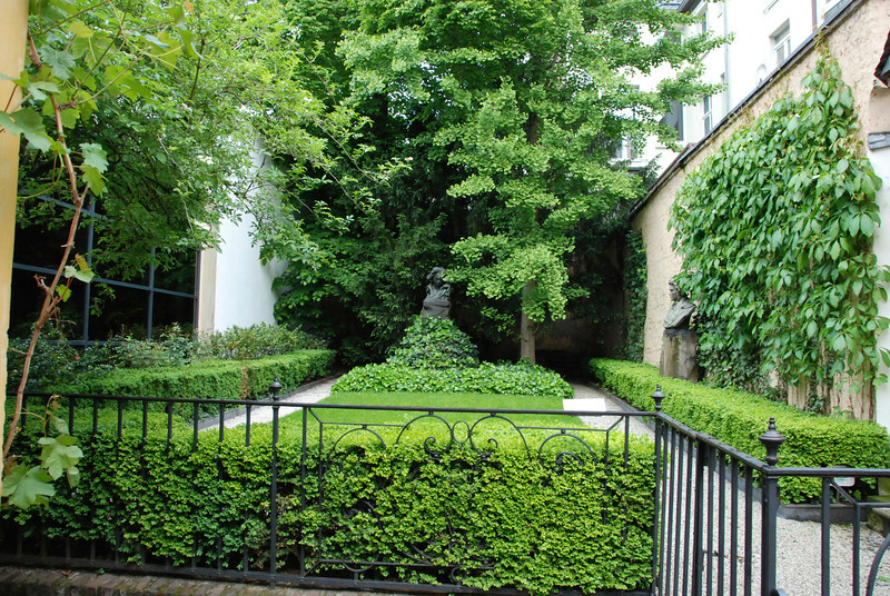Beethoven's garden.