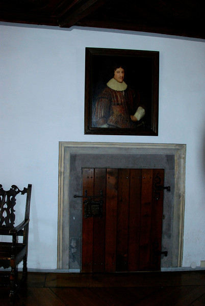 Original door to the chapel. It was made low so everyone had to bow when they went in.