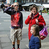 Monday, May 12: Into Bad Godesburg to do a bit of shopping. Jeremy, Becky and Emma.