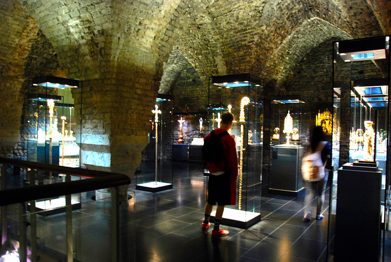 The Cathedral Treasures room.