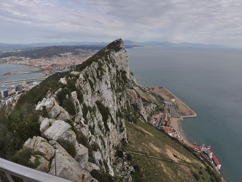 Rock of Gibraltar<br /> Gibraltar, UK<br /> February 16, 2014