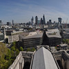 View from St. Paul's Cathedral<br /> London, England<br /> April 16, 2014