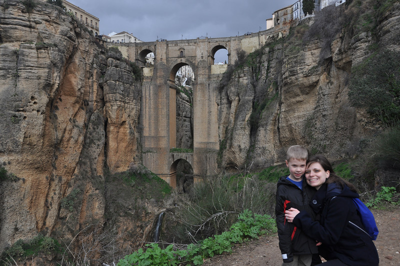 Puente Nuevo Bridge in Ronda, Spain