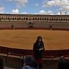 Bullfighting Ring Real Maestranza de Caballería<br /> Seville, Spain<br /> February 18, 2014