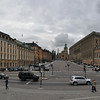 Royal Palace to the right, Cathedral in the middle<br /> Gamla Stan, Stockholm, Sweden<br /> July 1, 2014