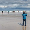 Photographing where the Atlantic and Baltic waters meet.
