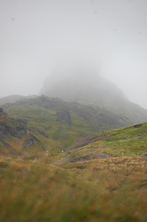 Old Man Storr is up there ...somewhere