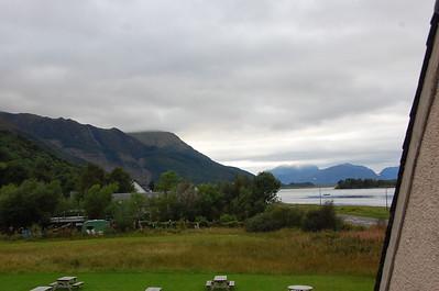 View from Glencoe Inn