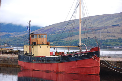 Inverary waterfront