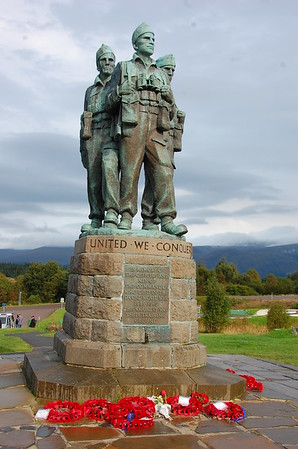 Commando Memorial, Spean Bridge Village, Lochabar