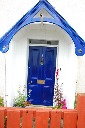 Blue door #2, Plockton