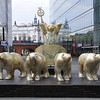 Roman Bears -- or at least golden bears pulling a chariot. <br /> <br /> Berlin, Germany