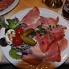 A plate of schinken -- super thin sliced ham, with side salad.<br /> <br /> Bad Rothenfelde, Germany