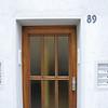 Oma old door. Lange Strasse.<br /> <br /> Osnabruck, Germany