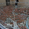 A model of modern Hannover, Germany