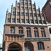 The brickwork on some of the buildings is quite intricate.<br /> <br /> Hannover, Germany