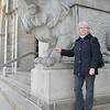 Tante Christa tames a lion.<br /> <br /> Hannover, Germany
