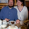 Cousins Mike and Maike pleased with their dessert choices as well. <br /> <br /> Hannover, Germany