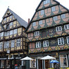 Ornate old building.<br /> <br /> Celle, Germany