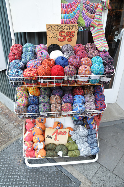 Yarn bin. <br /> <br /> Celle, Germany