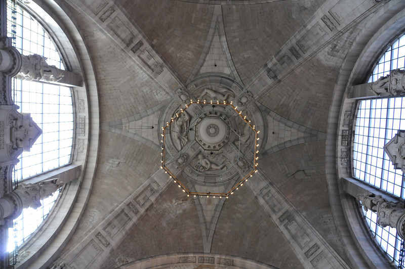 The underside of the dome.<br /> <br /> Hannover, Germany