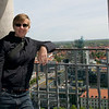 Taking in the sites from above city hall.<br /> <br /> Hannover, Germany