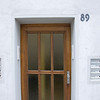 Now on my mother's side this door and number should mean something. It's 89 Lange Strasse. The address where my mom grew up. We have many old photos with Oma standing and waving from this doorway.