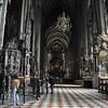 Inside Stephansdom Church