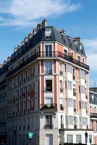 Apartment building in Montmatre