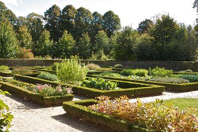 Garden in Marie Antoinette's hamlet
