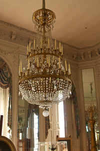 "Chandelier in Le Grand Trianon (the king's ""Other"" Palace)"