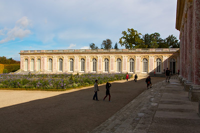 Gardens outside Le Grand Trianon