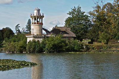 Building in Marie Antoinette's hamlet