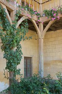 Porch in Marie Antoinette's hamlet