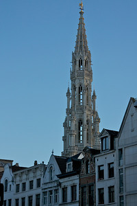 tower on the Hotel de Ville (yes there's one here too) in Brussels.
