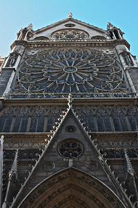 Notre Dame front entrance