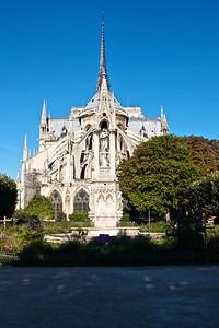 Notre Dame, back end.