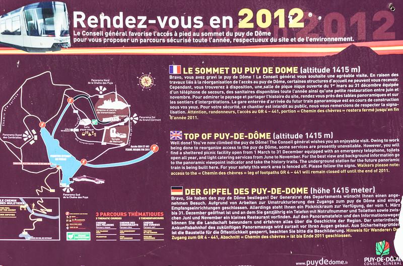 Map of Puy-de-Dome
