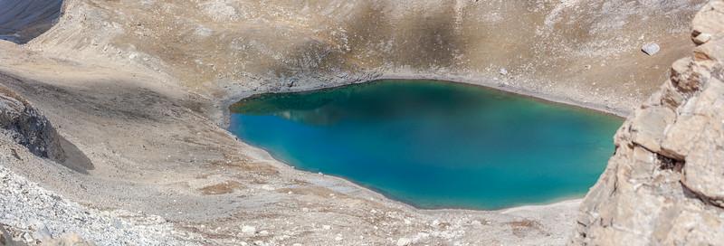 Lac du Santel, Val d'Isère, Auvergne-Rhône-Alpes, France.
