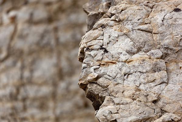 Close up of Le Rocher de Saint Julien
