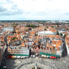 Looking down on the Market Square from the Belfort.